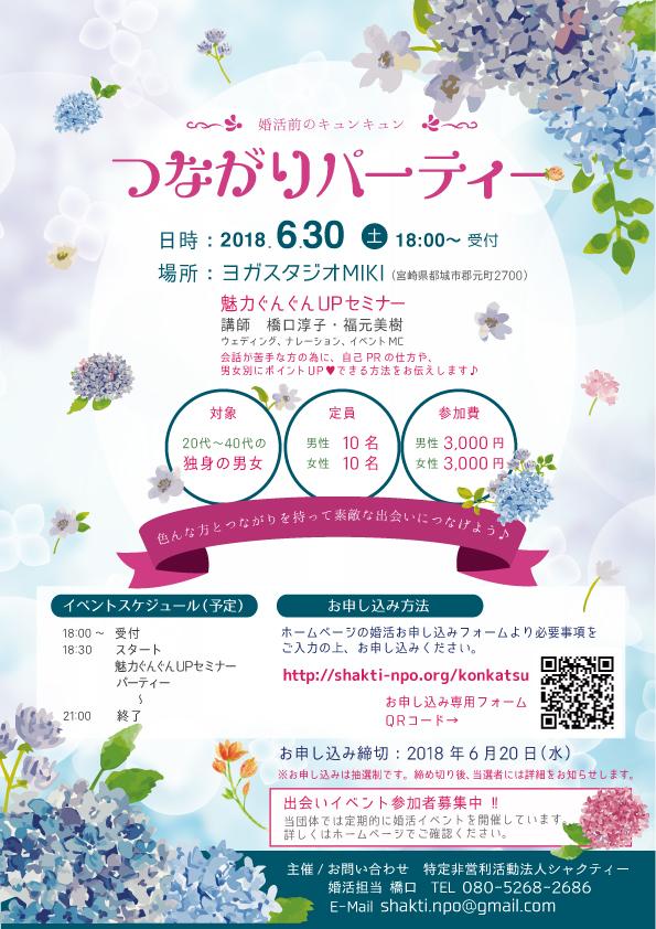 6月30日開催 つながりパーティー