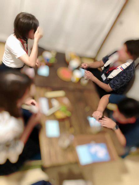 夏祭りコン 型抜きチャレンジゲーム